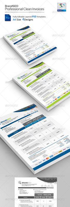 Invoice  Proposal Templates