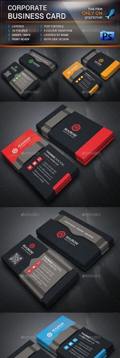Business card business cards print templates download here https business card business cards print templates download here https graphicriveritembusiness card17207036srank45refal fatih pinterest reheart Gallery