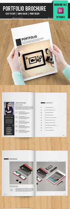 Free Booklet Template 포트폴리오 디자인 참고  Design Inspiration For Ppt  Pinterest .
