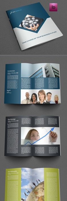 Training Company Brochure Template 28 Pages Train Companies