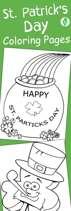 St Patricks Day Coloring Page FREEBIE from Innovative Teacher on - best of leprechaun coloring pages online