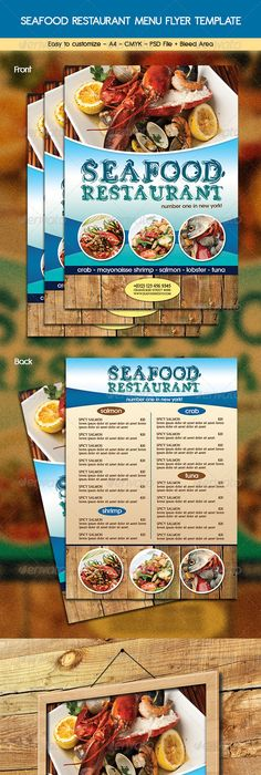 Pizza Menu Flyer Pizza menu, Pizzas and Menu