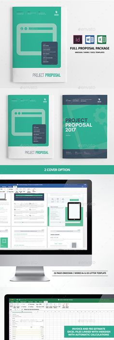 Proposal Template by fahmie on @creativemarket #ProposalTemplate