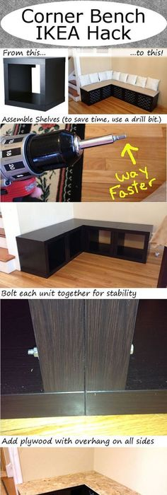 Awesome Diy Corner Bench Seat with Storage