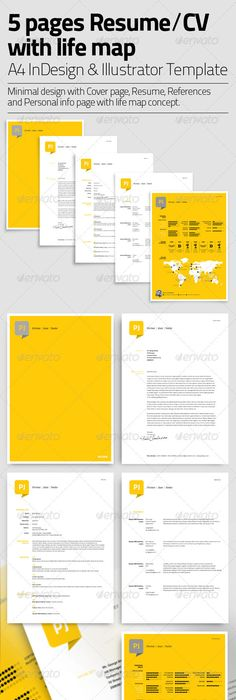 Clean One Page Resume by ~KaixerGroup on deviantART Infographic - resume 5 pages