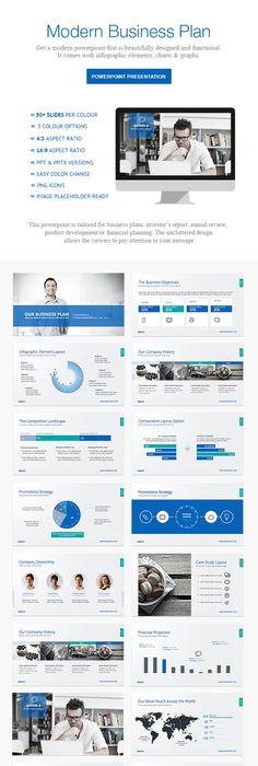 Vision Powerpoint Presentation Template On Behance  Presentation
