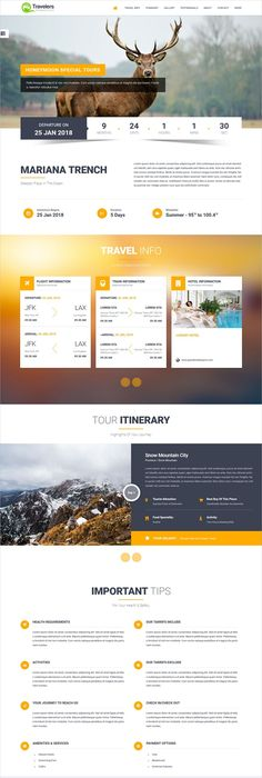 travel agency itinerary template