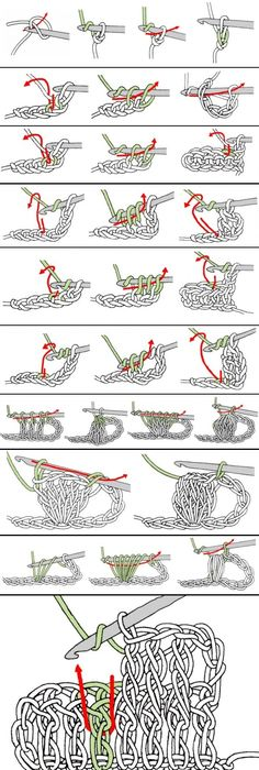 Decisive image with regard to printable crochet stitch guide