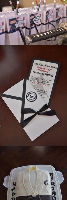 Karate FREE Printable Birthday Party Invitations Birthday Party - fresh birthday invitation of my son
