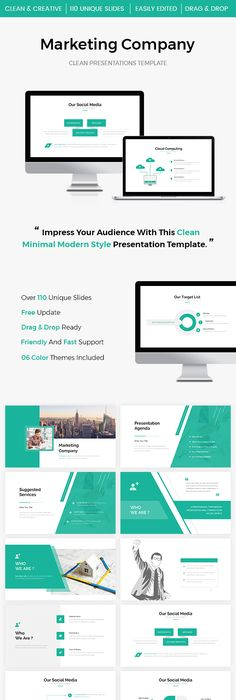 Pin By Cool Design On Minimal Keynote Theme Pinterest Company