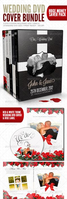 Beautiful Wedding Dvd Cover Psd Template   Dvd