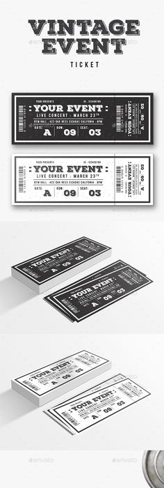 Concert Ticket Template Free Download Magnificent Fpo A Design Film Festival 2015 Tickets  Created Via Http .