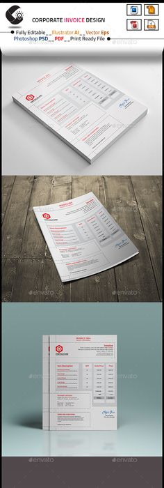 Invoice Templates  Invoice    Template And Ai Illustrator