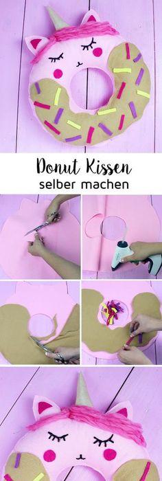 Diy Zimmerdeko diy donut decke ohne nähen zimmer deko selber machen