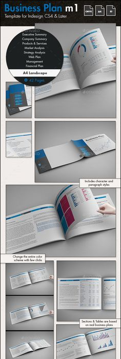 Business Plan Template US Letter Business Planning Template And - Business plan template indesign
