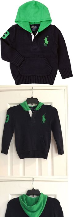 ralph lauren cotton crewneck sweater polo big pony red