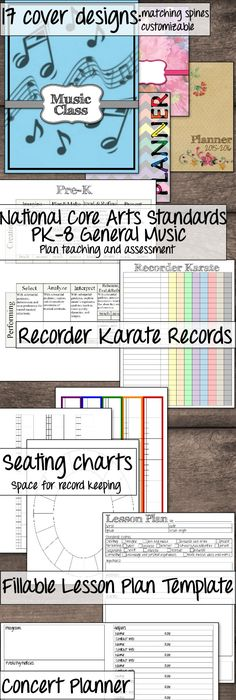 Elementary Music Lesson Plan Template  Teacher Ideas