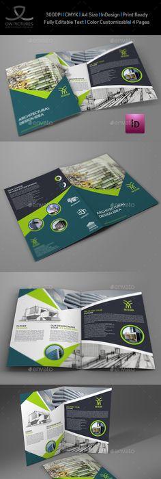 Environment Eco Bi Fold Brochure Template Brochure Template