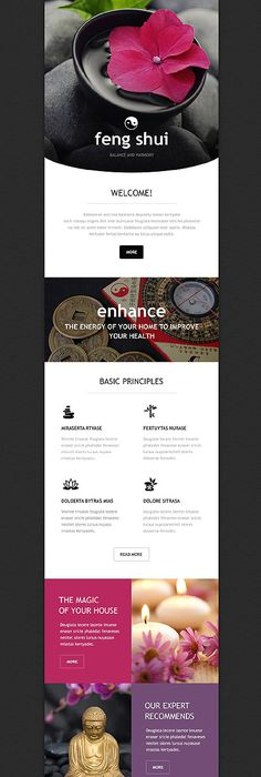 Email Newsletter Examples Business Email Templates Sample