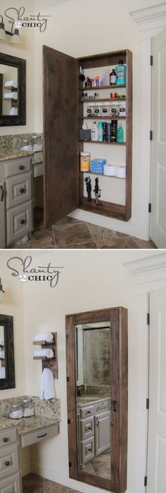 9 Wall Storage Ideas That You Need To Try: DIY Wall Shelves In The Bathroom - Tutorial