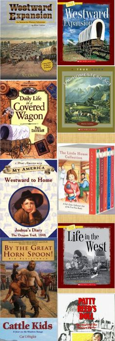Dont miss this westward expansion website social studies history compilation of books on westwardexpansion for kids fandeluxe Gallery