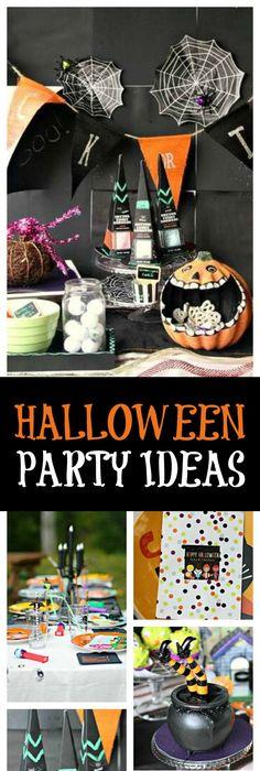 Halloween / Halloween \ - kids halloween party ideas