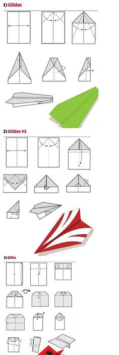 Paper Airplane Instructions Concord Airplanes Origami And Craft
