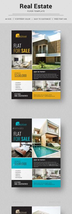 Commercial Real Estate Property Flyer Template Commercial - Commercial real estate brochure template