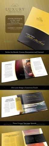 Hotel Promo Pages Simple Brochure Hotel Flyers Pinterest - 8 page brochure template