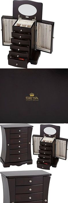 Jewelry Boxes 3820 Tahari Mirror Jewelry Box BUY IT NOW ONLY