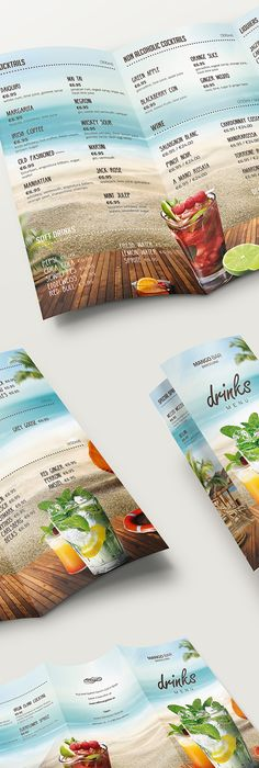 Juice Bar Menu Template  Menu Templates Juice And Menu