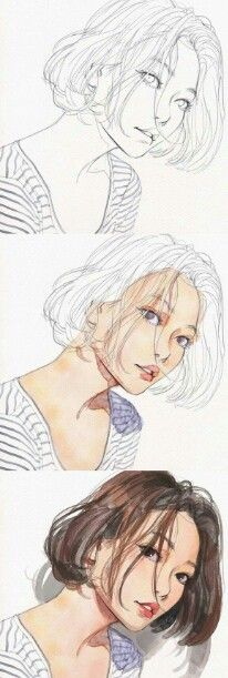 0db11e20033b56037026cb5cb00f4fda watercolor fashion watercolor girls jpg