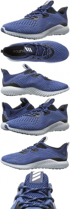 Adidas Performance Men's Alphabounce EM M Running Shoe, Collegiate  Navy/Utility Black/Mystery