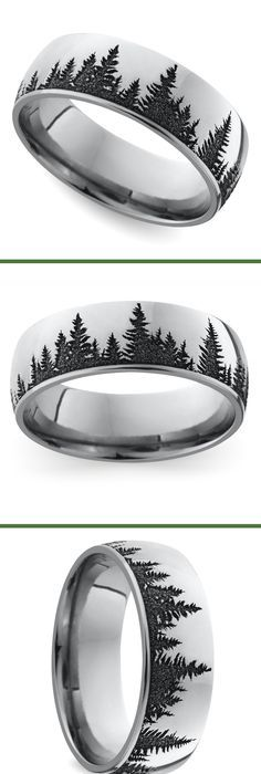 Animal Landscape Scene Reindeer Deer Stag Mountain Range Ring