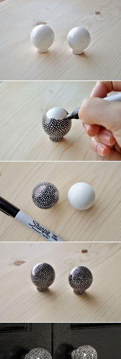 easy decor update diy crystal drawer knobs free people blog