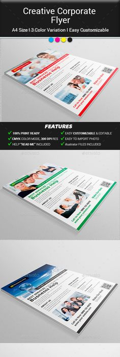 Corporate Flyer Template Psd Flyer Templates Pinterest Flyer