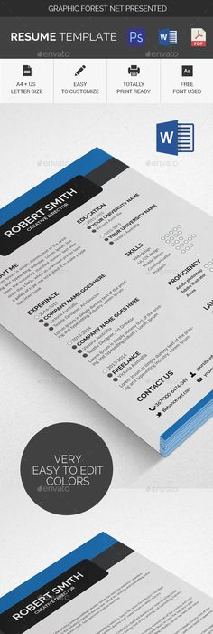 Gstudio Color One Page Resume  Template Resume Cv And Font Arial