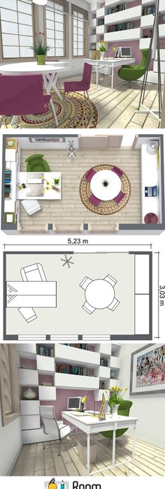 RoomSketcher is not only for home design - you can plan a restaurant - fresh gym blueprint maker