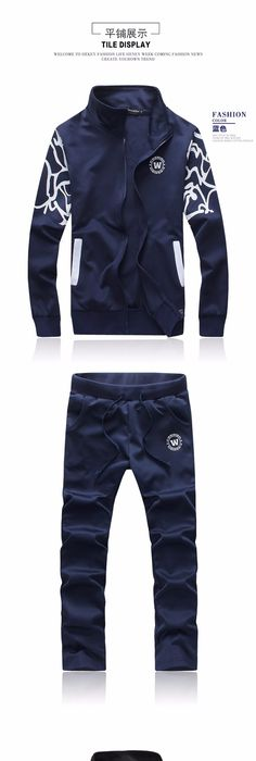 Survetement football 2016 Fashion Mens Sportswear, Male Casual Sweatshirt,  Man Brand Sports Suit,