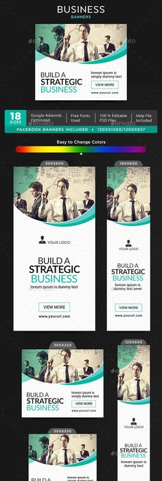 Corporate Banner Ads Banners Banner Template And Ads - Photoshop ad templates