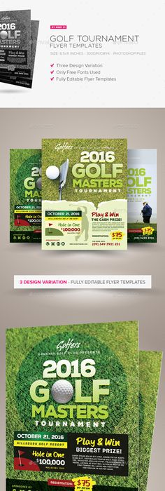 Junior Golf Camp Flyer Templates  Flyer Template Template And