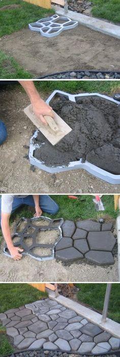 9 DIY Cool & Creative Patio Flooring Ideas | Flooring ideas, Patios ...