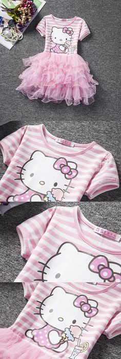 Look at this #zulilyfind! Poplin Skirt Hello Kitty Tutu Dress ...