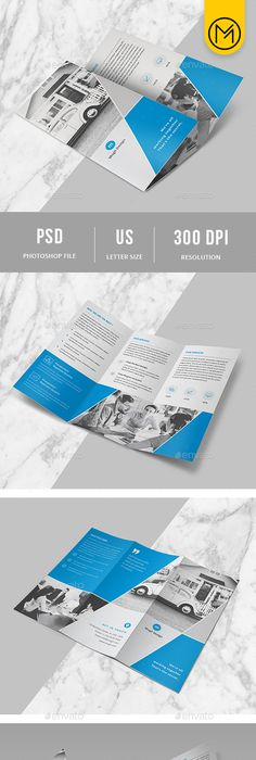 PhotographyMovie Producer  TriFold Brochure Graphicriver