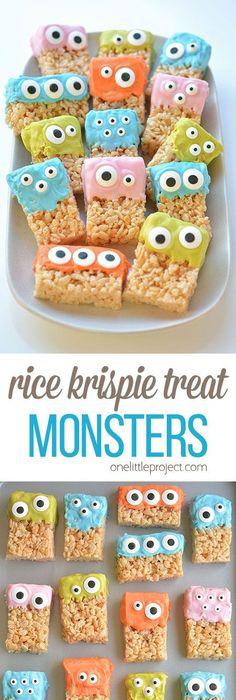 20 Easy  Fun Halloween Food Ideas Monsters, Apples and Halloween - fun halloween food ideas
