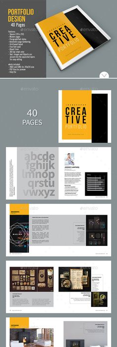 Modern Architecture Brochure  Pages A  A Template Indesign