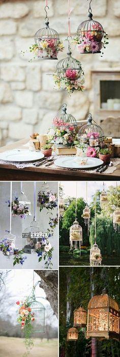 A decoração dos melhores e mais pinados casamentos no campo na espanha são repletas de elementos