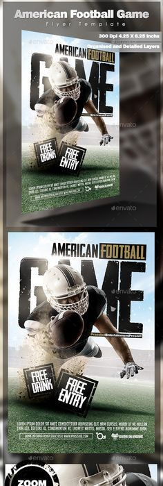 Monday Night Football Flyer Free Download Psd On Behance  Flyer