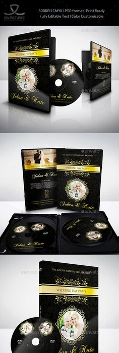 Wedding Dvd Cover And Dvd Label Template  Label Templates