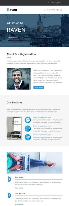 Best Responsive Email Templates  Email Design Template And